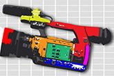 Billedet viser Beton TV's logo, som er en grafik af et filmkamera.