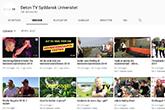 Billedet viser et screenshot af Beton TV's youtube kanal.