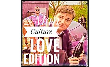 Billedet viser logoet for podcasten 2 man culture